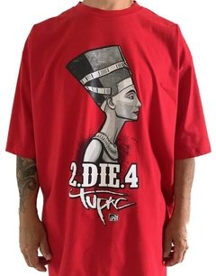 Camiseta tupac rap power die four - Rap Power