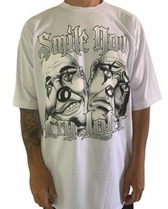 Camiseta rap power smile now