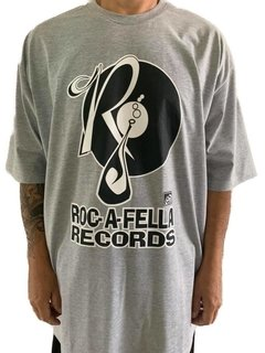 camiseta roc a fella records rap power