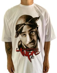 Camiseta Rap Power Tupac Lenço