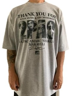camiseta tupac rap power makaveli