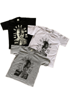 Camiseta infantil tupac all eyez