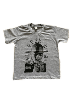 Camiseta infantil tupac all eyez na internet
