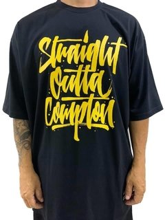 Camiseta rap power straight outta compton - comprar online