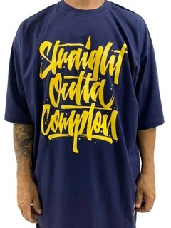 Camiseta rap power straight outta compton