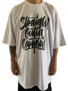 Camiseta rap power straight outta compton - Rap Power