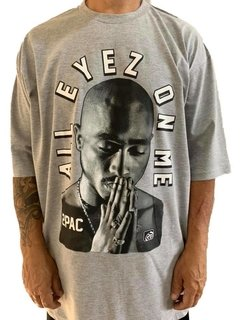 Camiseta tupac all eyez on me rap power - comprar online