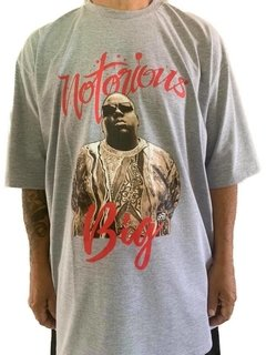 Camiseta rap power notorious big - loja online
