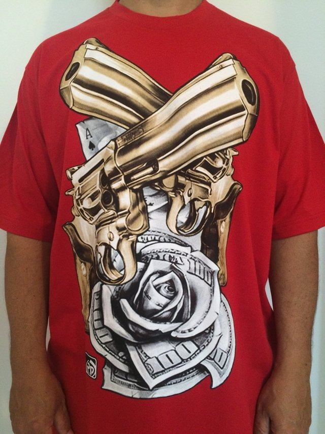 Camiseta Rap power 38 Rossi