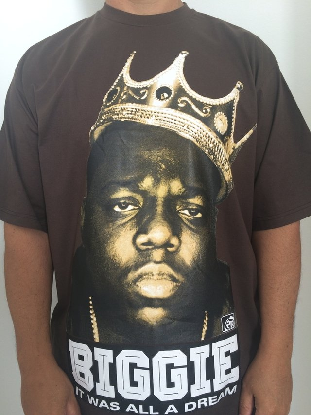 Camiseta Rap power Notorious Big king - loja online