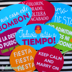 10 Carteles (19x13cm) con frases para Photobooth en internet