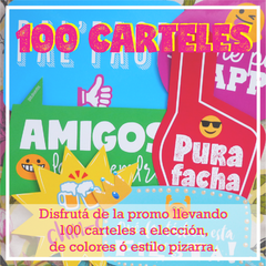 100 Carteles con frases para Photobooth