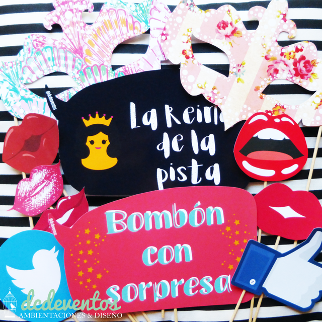 Kit para Photobooth Mix Sorpresa - comprar online