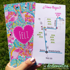 40 Invitaciones Instagram tropical en internet