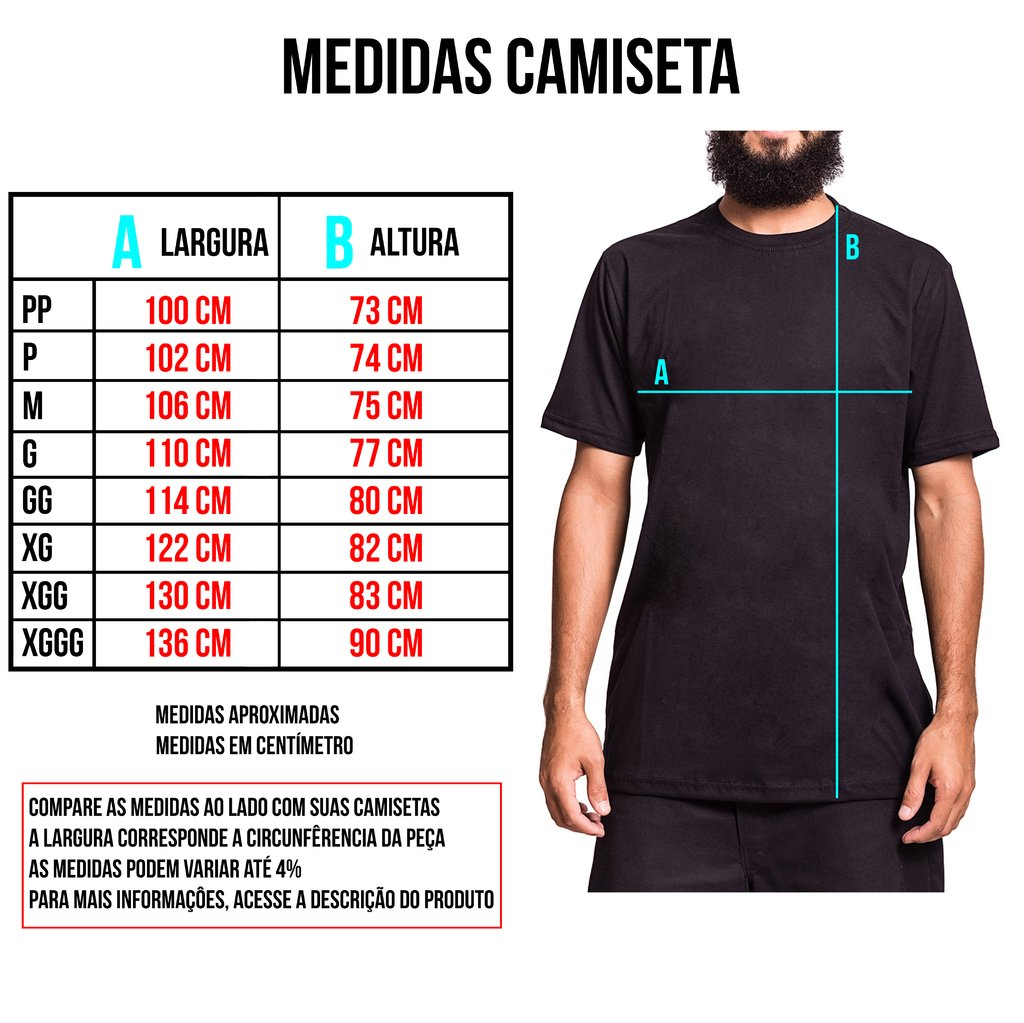 Camiseta Basic - Ink Type na internet