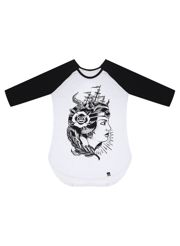 Raglan 3/4 Mini Vest - Lady Anna