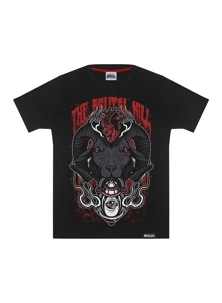 CAMISETA BIG - EVIL HEART