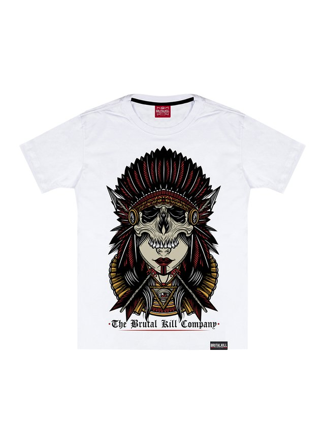 CAMISETA BIG - INDIAN