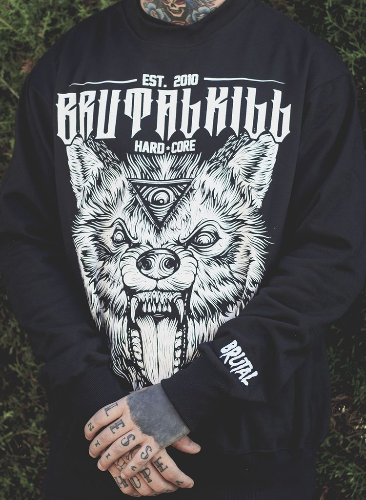 Moletom Careca - Canis Black - Brutal Kill