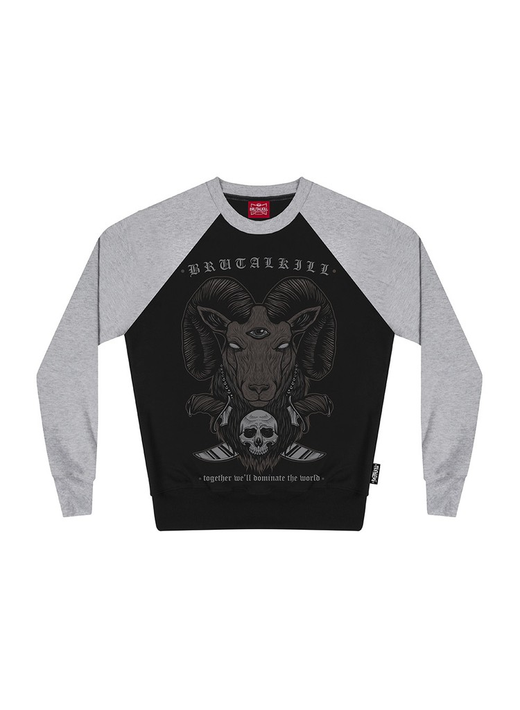 Moletom Careca Raglan - New Goat