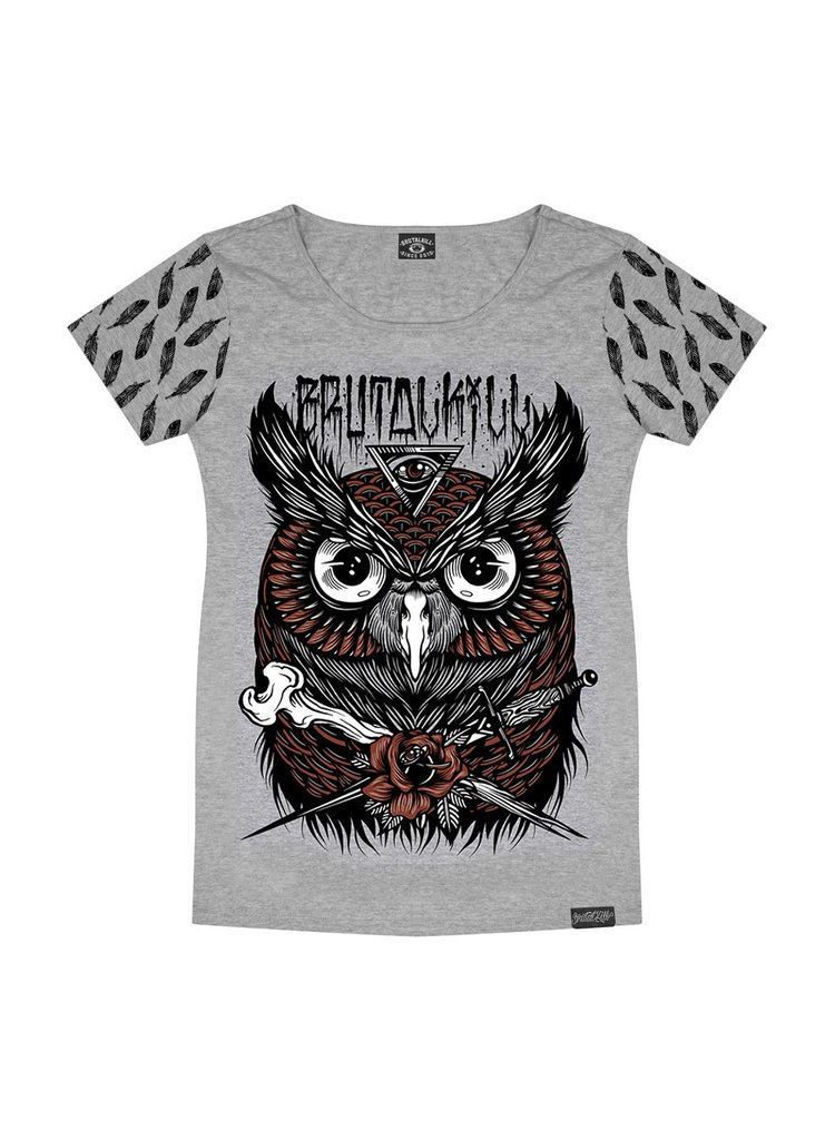Camiseta Feminina - Metal Break