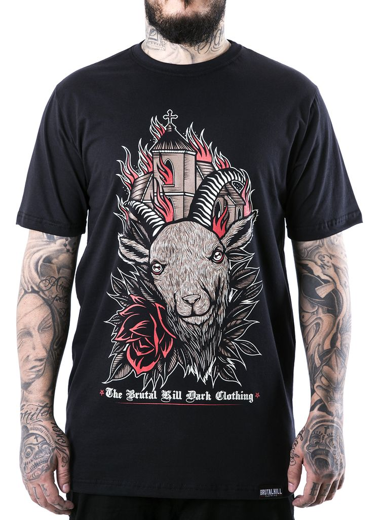 Camiseta - Goat On Fire na internet
