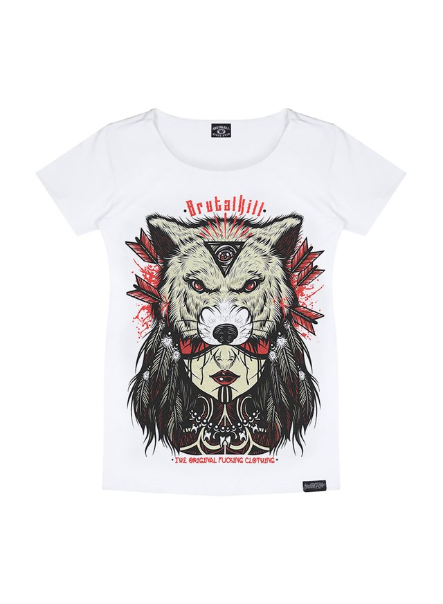 Camiseta Feminina - Red Skin