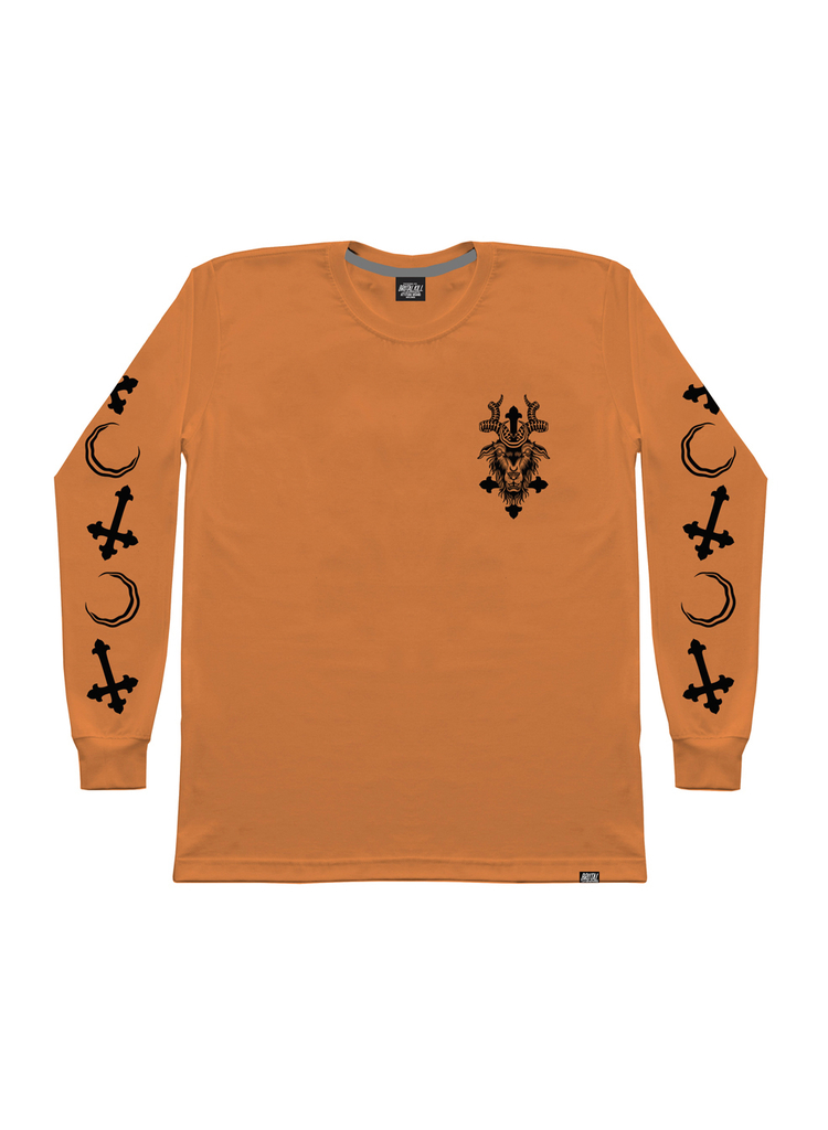 Camiseta Manga Longa - Divine Orange