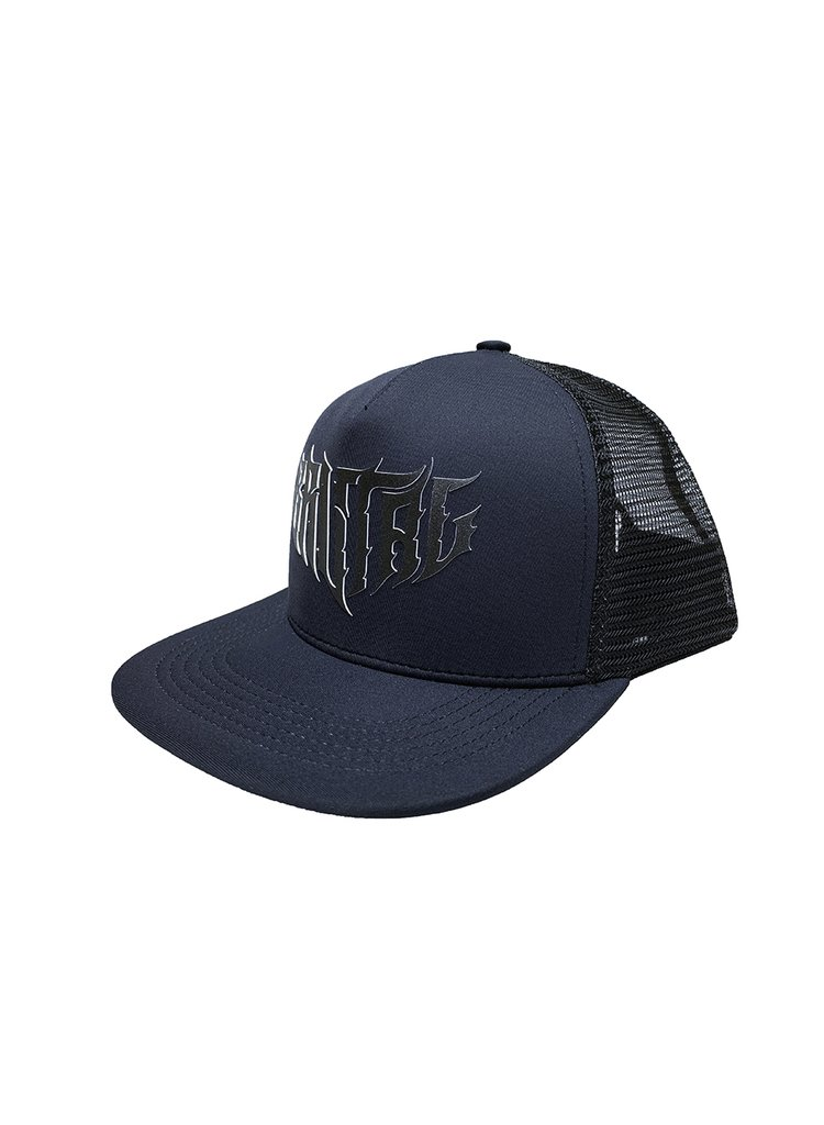 Snapback Trucker - Black Death
