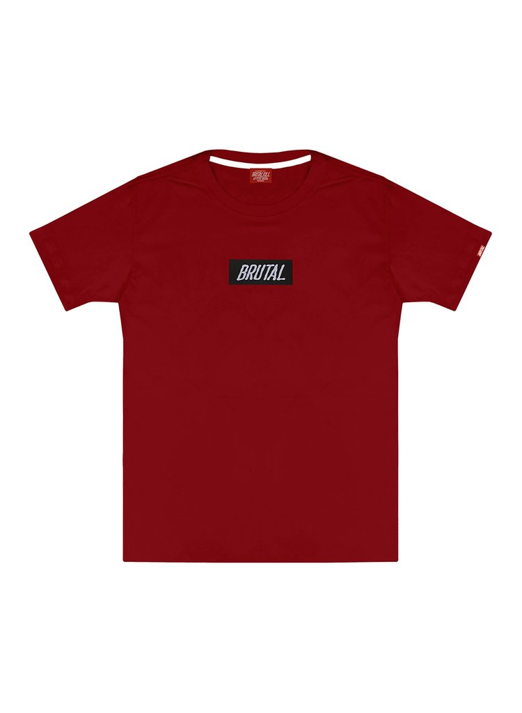 Camiseta - Brutal Red Box