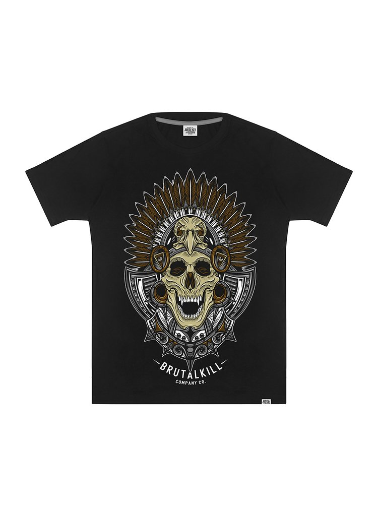 Camiseta - Native Skull