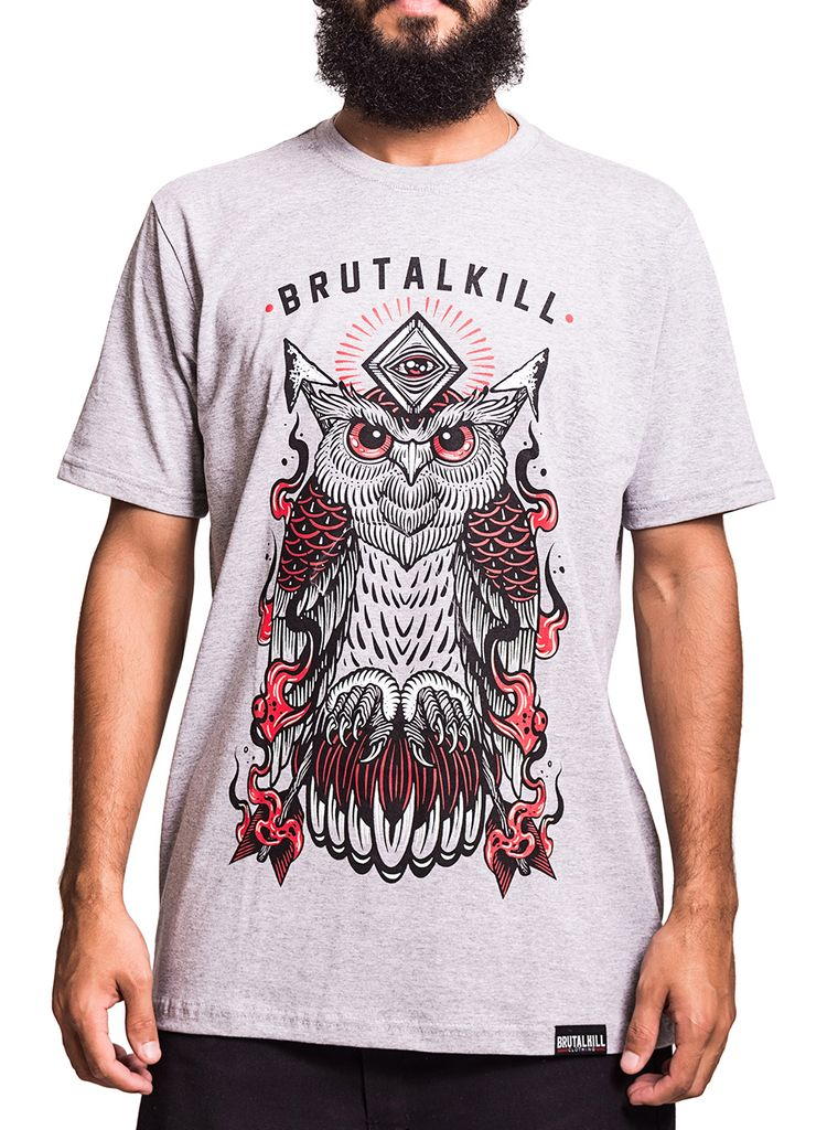Camiseta - Fire Owl na internet