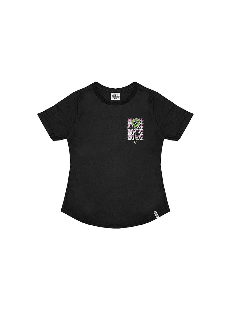 Camiseta Feminina Manga Dobrada - Dad Bad
