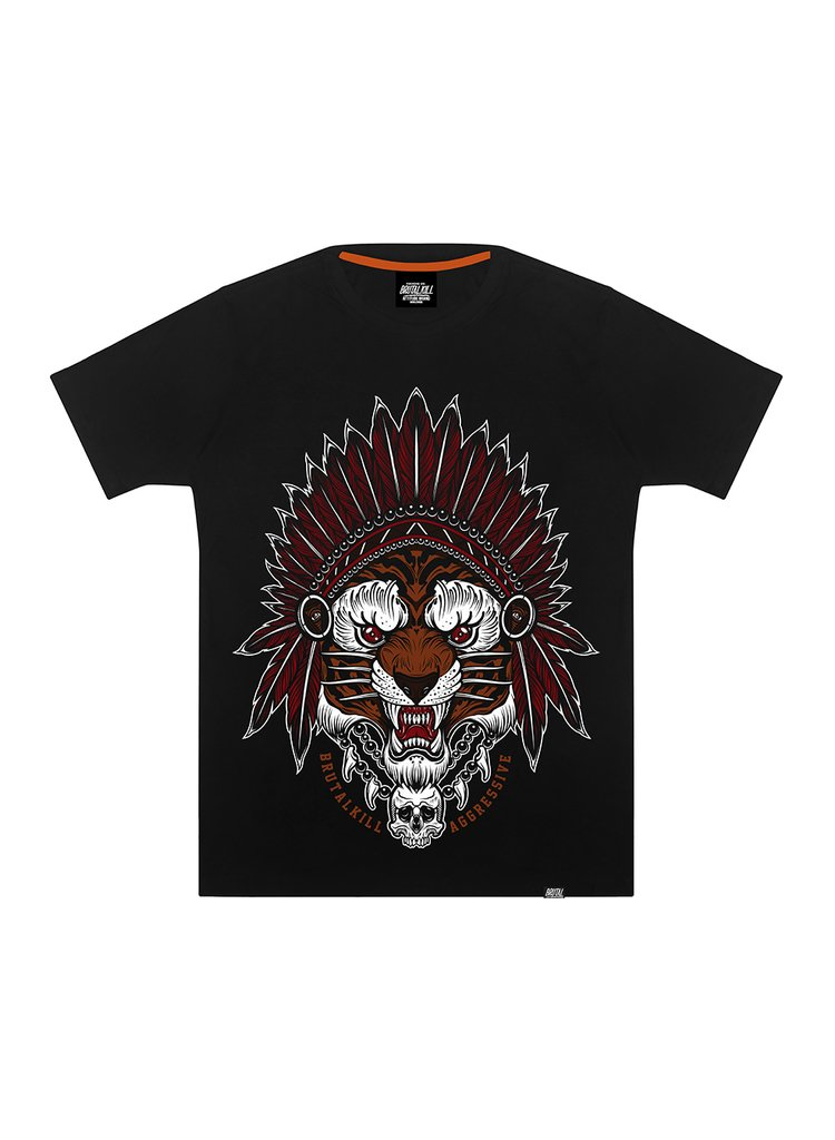 Camiseta - Native Tiger