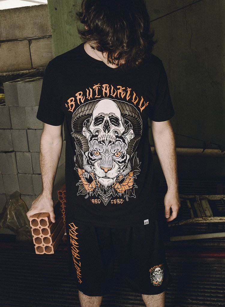 Camiseta - Aggressive Tiger - Brutal Kill