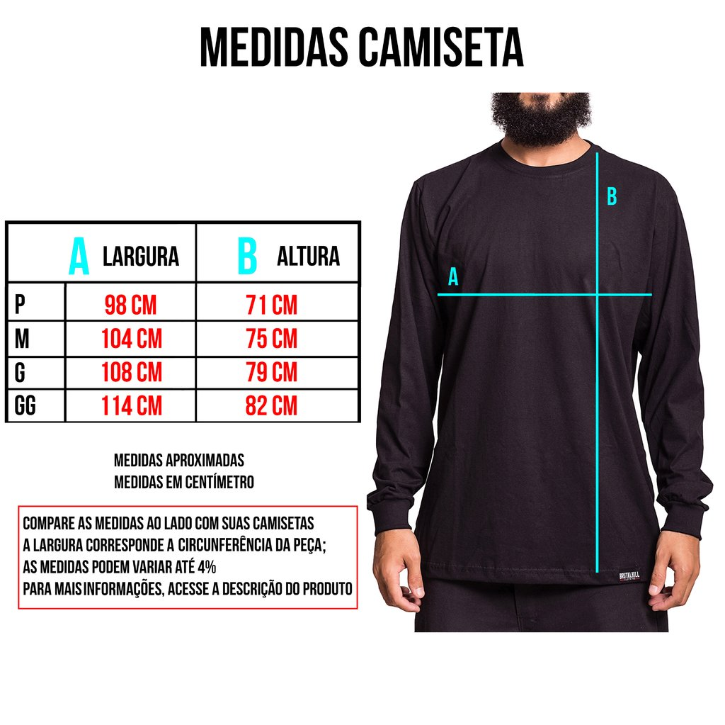 Camiseta Manga Longa - Check Your Head - comprar online
