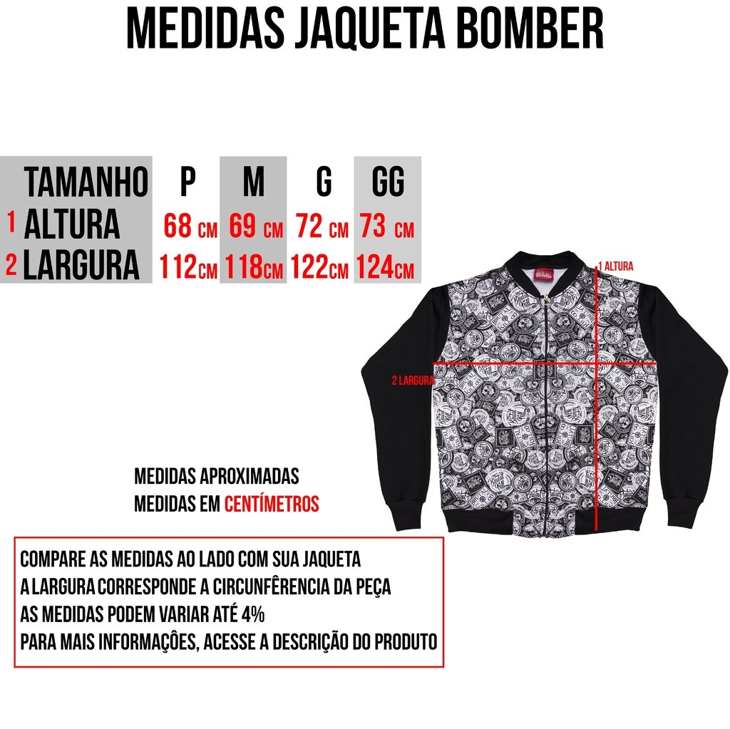 Jaqueta Bomber - Smell - loja online