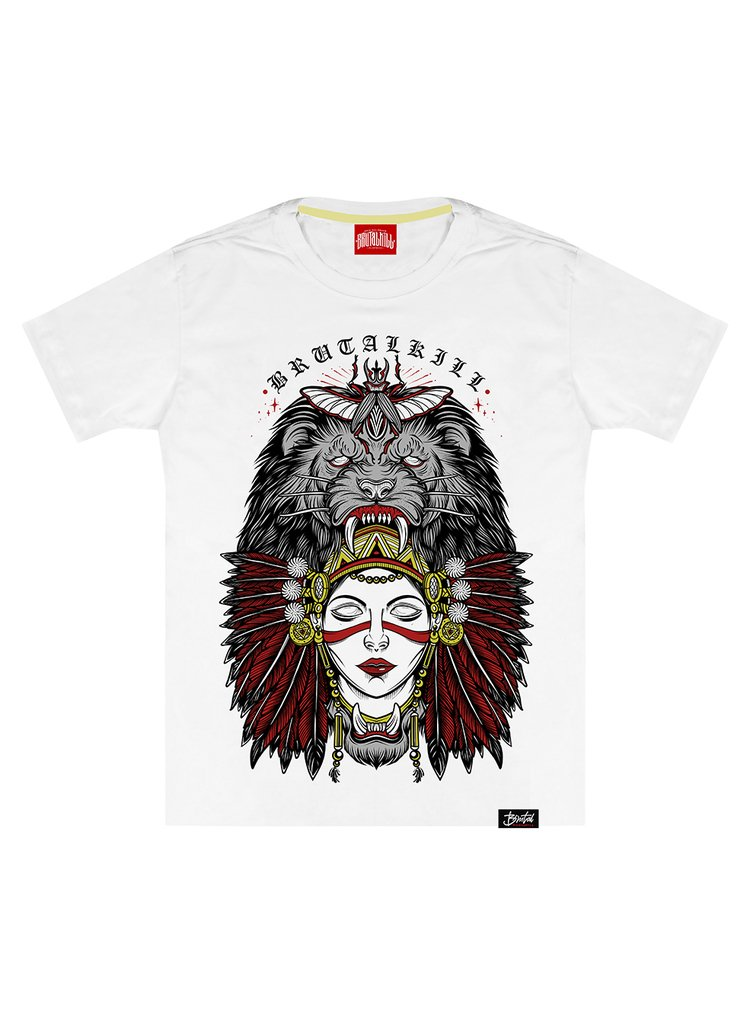 Camiseta - Lion Woman