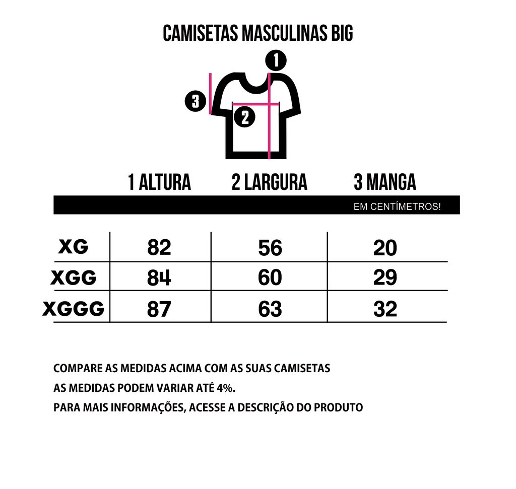 Camiseta BIG - Mochos na internet