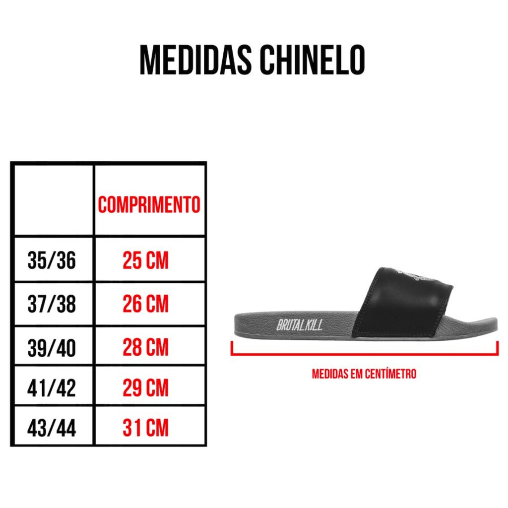 Chinelo Slide - Real