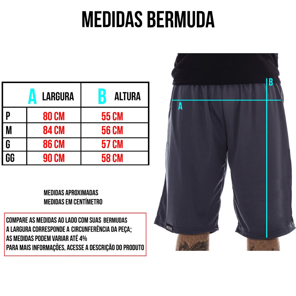 Imagem do Bermuda Moletom - Check Your Head