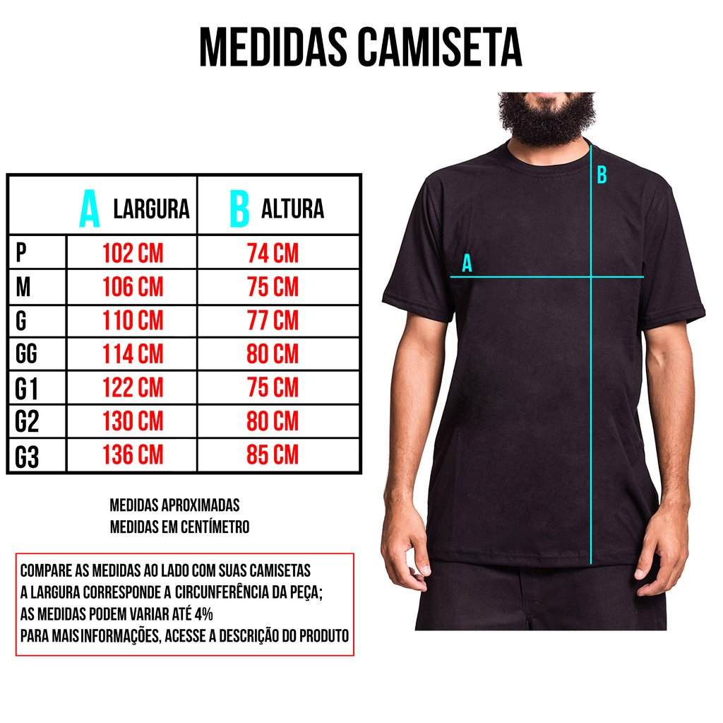 Camiseta Big - Black Beard na internet