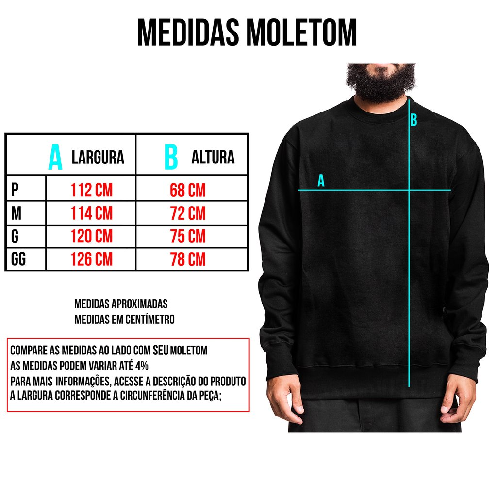 Moletom Careca - Ghost - comprar online