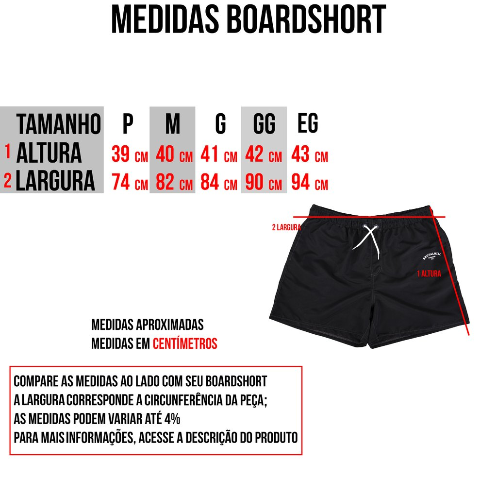 Boardshort - Clean Black