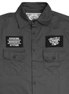 Camisa Work Shirt - The Brand Gray na internet