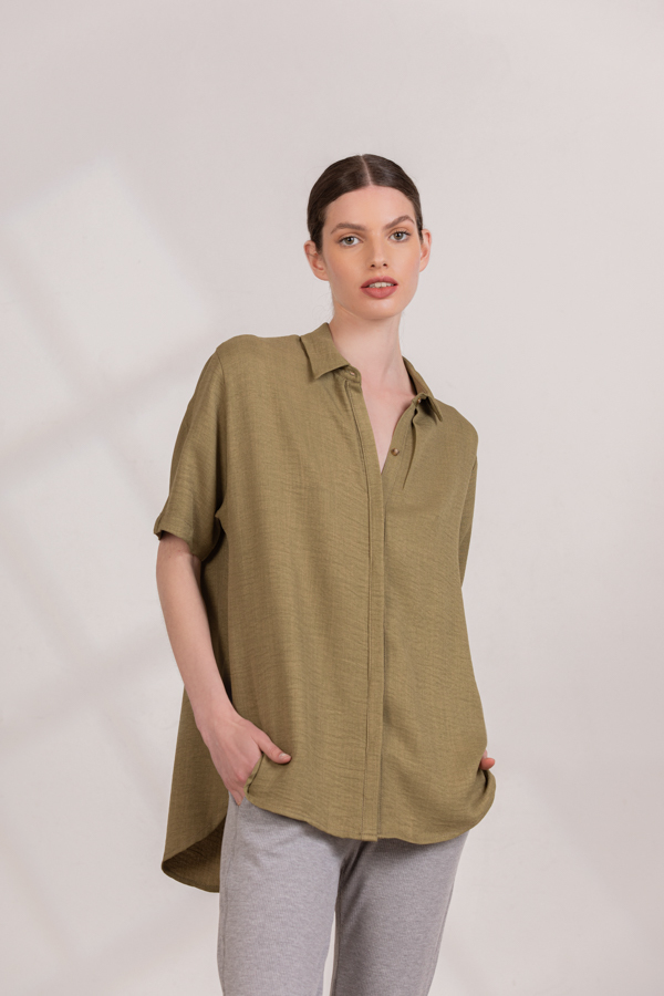 Image of NEW IN • Camisa Merlot