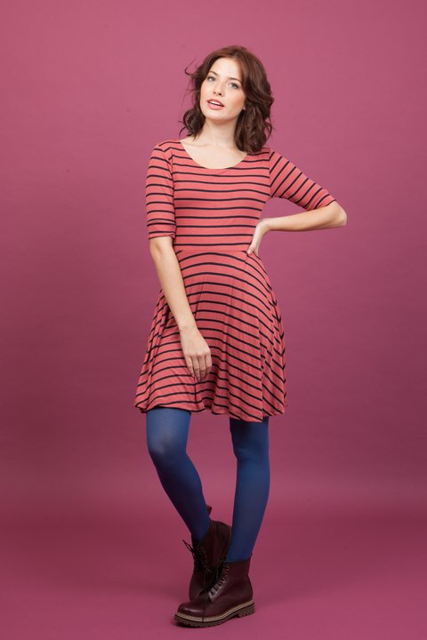 Vestido Stripes Ruby