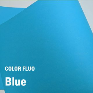 Papel Color Fluo Blue  - Tam. A4 - 180g/m² - 20 folhas