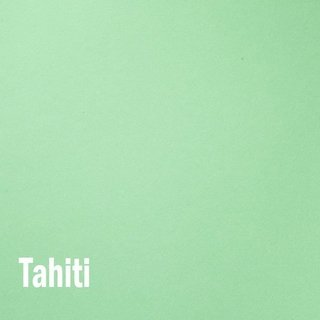 Papel color plus Tahiti - verde claro tam. A4 180g/m²