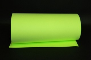 Papel Fluorescente Lumicor Verde Refrescante tam. A4 180g/m²